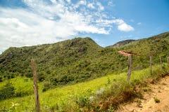 National park brazil serra da canastra. MG, Brazil, January 28, 2018: 4x4 expedition by nature stock image