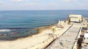 National Park Caesarea stock video footage