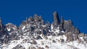 National Park Cerro Castillo. Austral highway, chile, XI region of Aysen. Patagonia royalty free stock photo