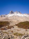 National Park Cerro Castillo. Austral highway, chile, XI region of Aysen. Patagonia stock photography