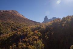 National park Cerro Castilloe. austral highway, chile, XI region of Aysen. Patagonia. National park Cerro Castillo. austral highway, chile, XI region of Aysen stock photos