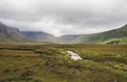 National park Connemara in summer. Royalty Free Stock Photo