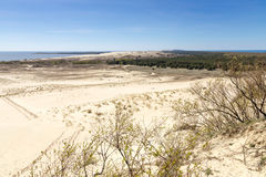 National Park Curonian Spit. Stock Image