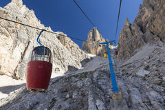 National Park of Dolomites. Stock Photo