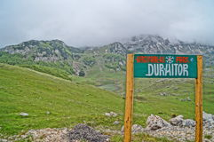 National Park Durmitor Royalty Free Stock Photo