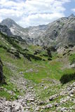National park Durmitor in Monte Negro Stock Photography