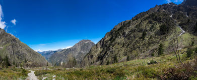 National Park Ecrins Royalty Free Stock Image