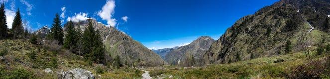 National park Ecrins Stock Photo