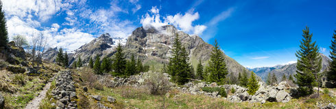 National park Ecrins Royalty Free Stock Photo