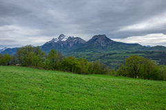 National park Ecrins Royalty Free Stock Photos