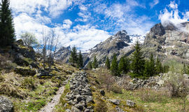 National park Ecrins Stock Photography