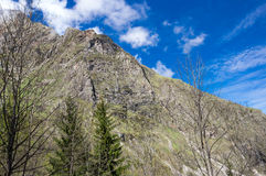 National park Ecrins Stock Image