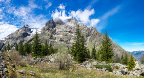 National park Ecrins Royalty Free Stock Images