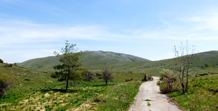 National Park Galicica, Macedonia. Picture of a National Park Galicica, Macedonia Royalty Free Stock Photos