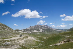 National Park of Gran Sasso Royalty Free Stock Images