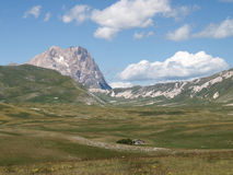 National Park of Gran Sasso of Italy Royalty Free Stock Image