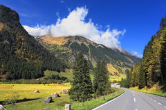 The national park of the Grossglockner Stock Photos