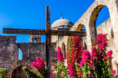 National Park of the Historic Old West Spanish Mission San Jose, Founded in 1720, Stock Photography