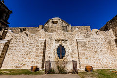National Park of the Historic Old West Spanish Mission San Jose, Founded in 1720, Royalty Free Stock Photography