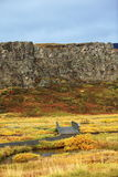 National park in iceland Royalty Free Stock Images