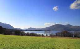 National Park - Irish scenery. Killarney lake and mountains - Co. Kerry - Ireland Stock Photography