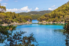 National park on island Mljet Royalty Free Stock Images