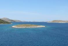 National Park Kornati royalty free stock photography