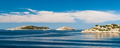 National Park Kornati in Croatia Stock Photography