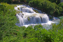 National Park Krka, river Krka, Stock Photo