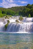 National Park Krka, river Krka, Royalty Free Stock Photo