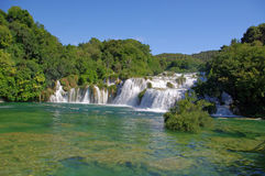National Park Krka, river Krka, Royalty Free Stock Image