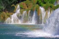 National Park Krka, river Krka, Royalty Free Stock Images