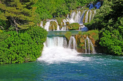 National Park Krka, river Krka, Stock Images