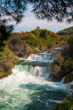 National park Krka, waterfalls, Croatia Royalty Free Stock Photos