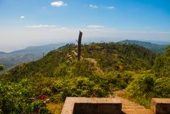National Park La Gran Piedra, Sierra Maestra, Cuba: Landscape with stunning views of the surrounding area. royalty free stock photo