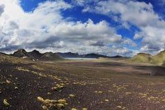 National Park Landmannalaugar in July Stock Images