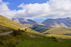 Free National Park Of The Sibillini Mountains Stock Image - 160136621