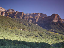 National Park of Ordesa and Monte Perdido Stock Photo