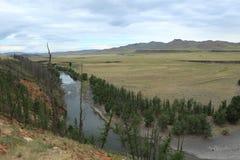 National Park Orkhon Valley Ulaan Gol River Stock Photos