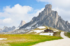 National Park panorama and dolomiti mountains in Cortina d'Ampezzo, northern Italy Stock Photography