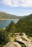 National park of Peneda Geres, Portugal. Lake in national park Peneda Geres, north of Porugal stock photos
