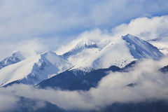 National park Pirin and peak Vihren, Bulgaria Stock Photos