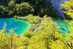 National park Plitvice Stock Photos