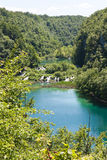 National park Plitvice in Croatia Stock Image