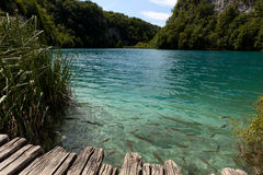 National park Plitvice Lakes  in Croatia Stock Photo