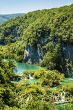 National park Plitvice lakes, Croatia Royalty Free Stock Photos