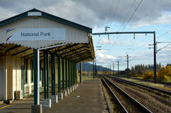 National Park Railway Station Royalty Free Stock Photos