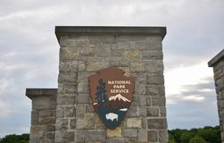 Park Operated by the National Park Service stock photos