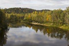 National park Sigulda Stock Photography