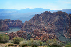 National Park. Snow Canyon National park in southern Utah royalty free stock photography